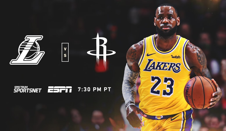 d41ab283125 3 Things to Know  Lakers vs. Rockets (10 20 18)