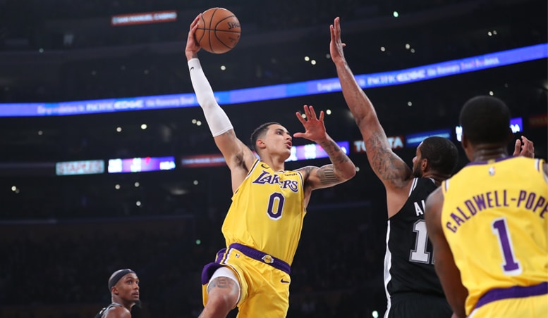Kuzma James Scorch Yet Lakers Fall in Overtime Shootout