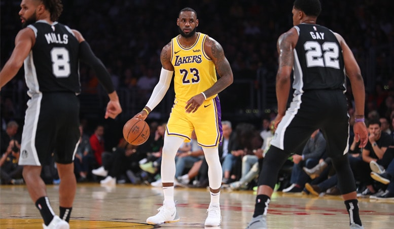 Running Diary: Lakers vs. Spurs 102218