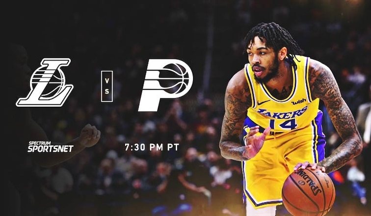 Lakers-Pacers Game Day