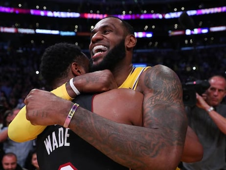 'We Did it Our Way': LeBron and Wade Close Journey as Teammates, Competitors
