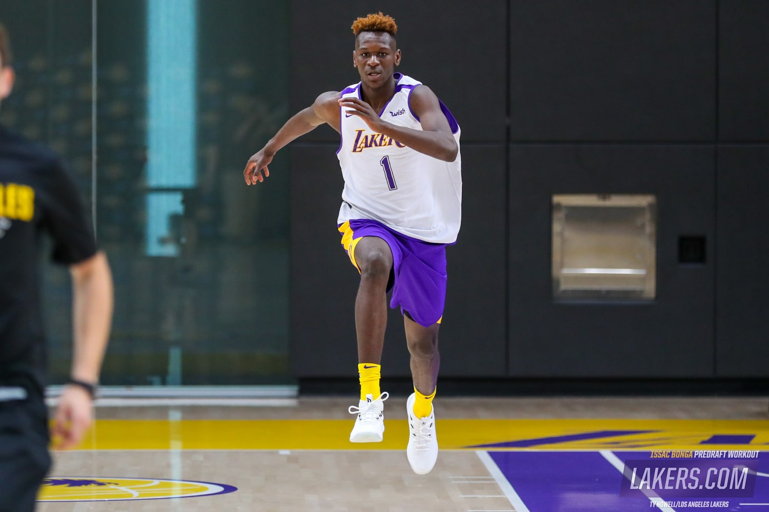 Toyota Of New Orleans >> Photo Gallery: Isaac Bonga Draft Workout | Los Angeles Lakers