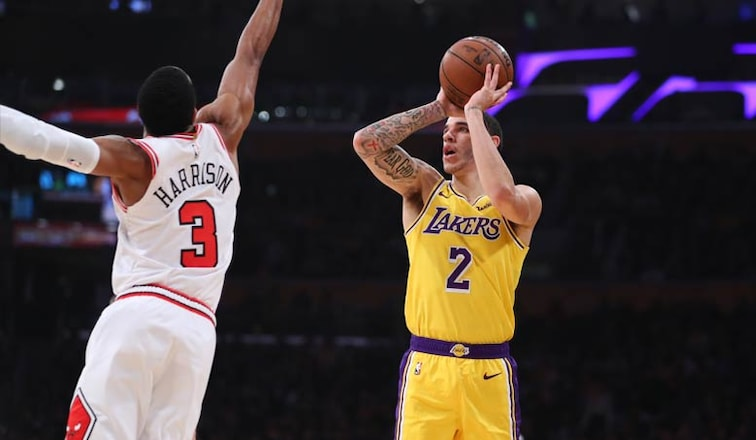 pretty nice 93f2a f2926 Young Core Guides Lakers Past Bulls | Los Angeles Lakers