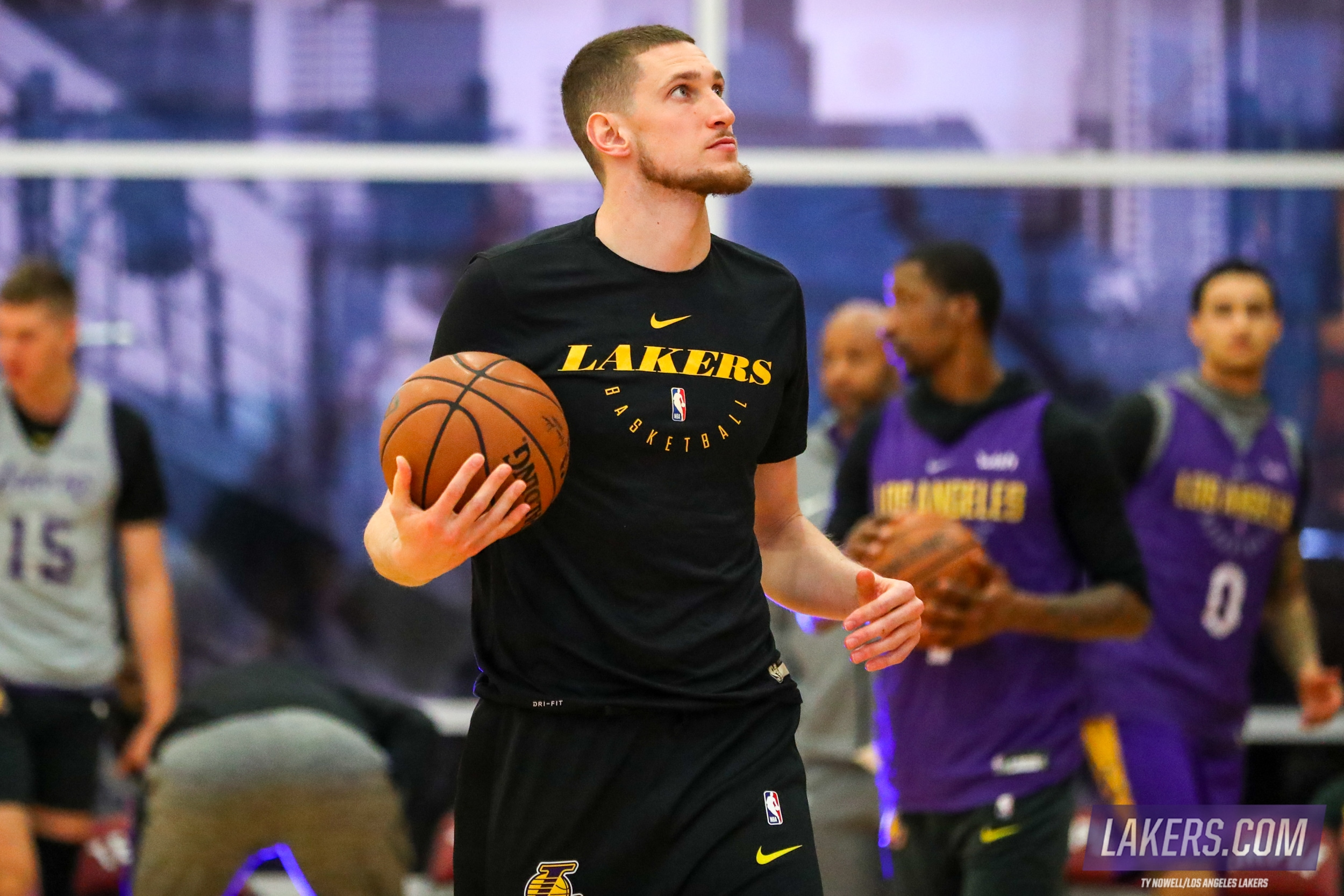 eca885888d0 New Lakers Bullock and Muscala Set to Debut in Philly