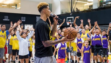Kids Have One-of-a-Kind Experience at 20th Annual Camp Lakers