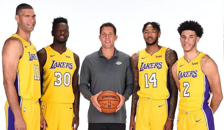 Meet The Lakers U0026 39 2017 Training Camp Roster Los Angeles
