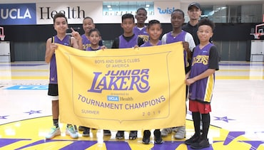 Kids from Across L.A. Compete at Junior Lakers Tournament Presented by UCLA Health