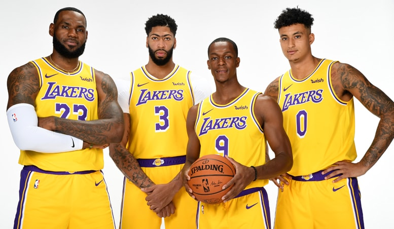 Ten Media Day Takeaways | Los Angeles Lakers