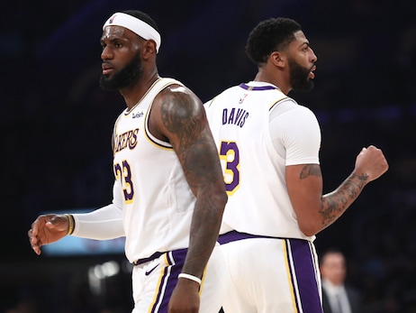 LeBron, AD and Lakers Frequent Recipients in Annual GM Survey