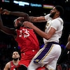 Lakers fall to Raptors as winning streak comes to an end