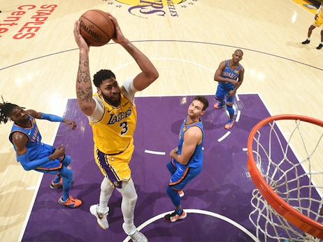 Surging offense carries Lakers to their 12th win