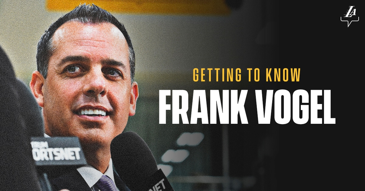 Getting to Know Frank Vogel