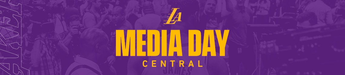 Lakers Media Day Centra