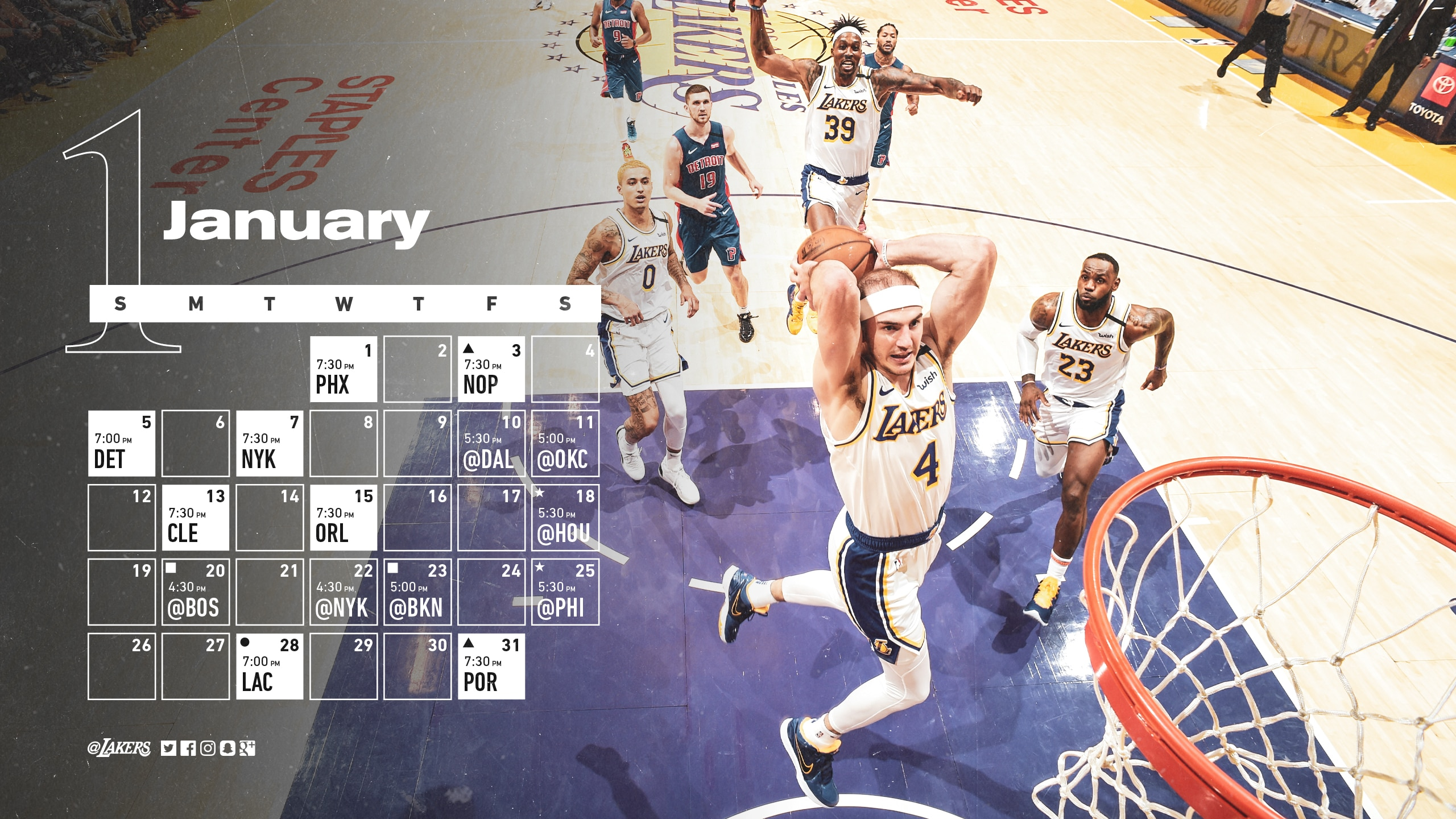 Schedule Wallpaper