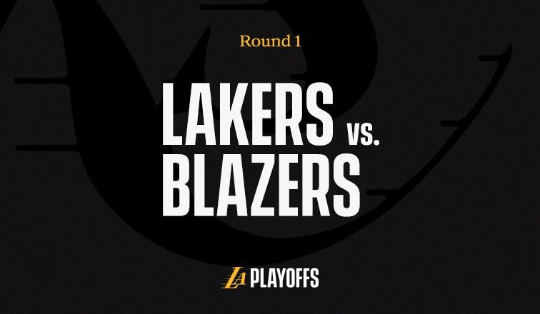 Lakers vs Trail Blazers - 1st Round 2020 NBA Playoffs