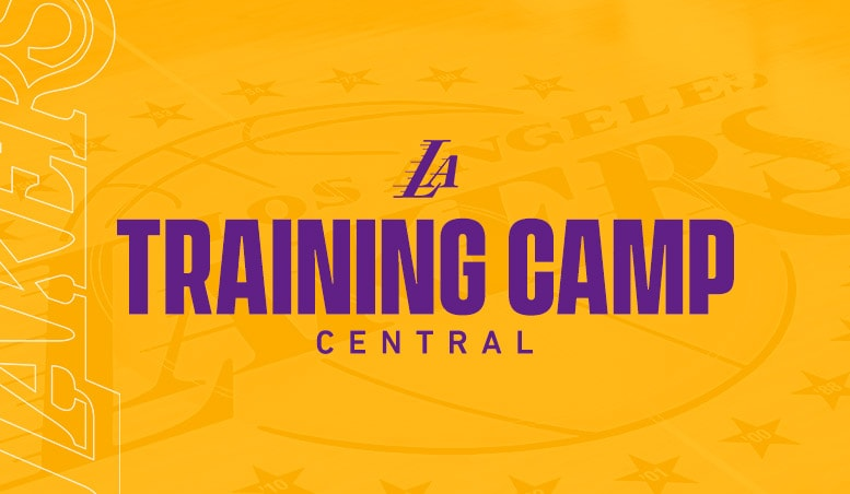 Lakers Training Day 2019