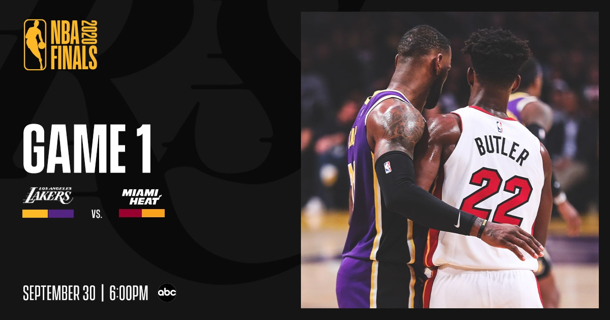 Lakers Vs Heat Finals Game 1 Three Things To Know 9 30 20 Los Angeles Lakers