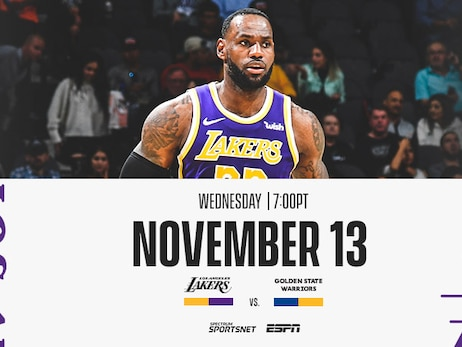 Lakers vs. Warriors: 3 Things to Know (11/13/19)