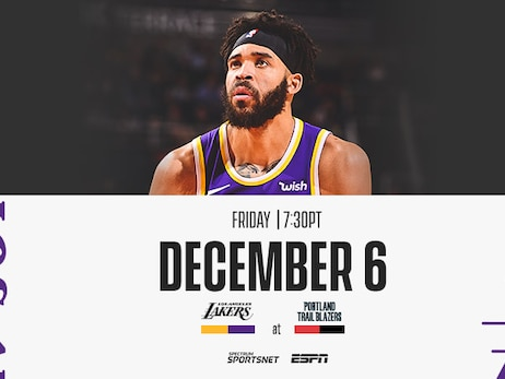 Lakers at Trail Blazers: 3 Things to Know (12/6/19)