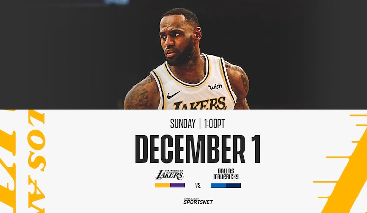 Lakers Vs Mavericks 3 Things To Know 12 1 19 Los
