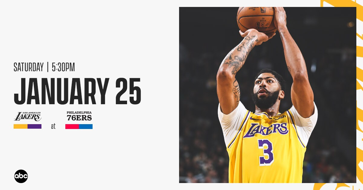 Lakers at Sixers: 3 Things to Know (1/25/20)