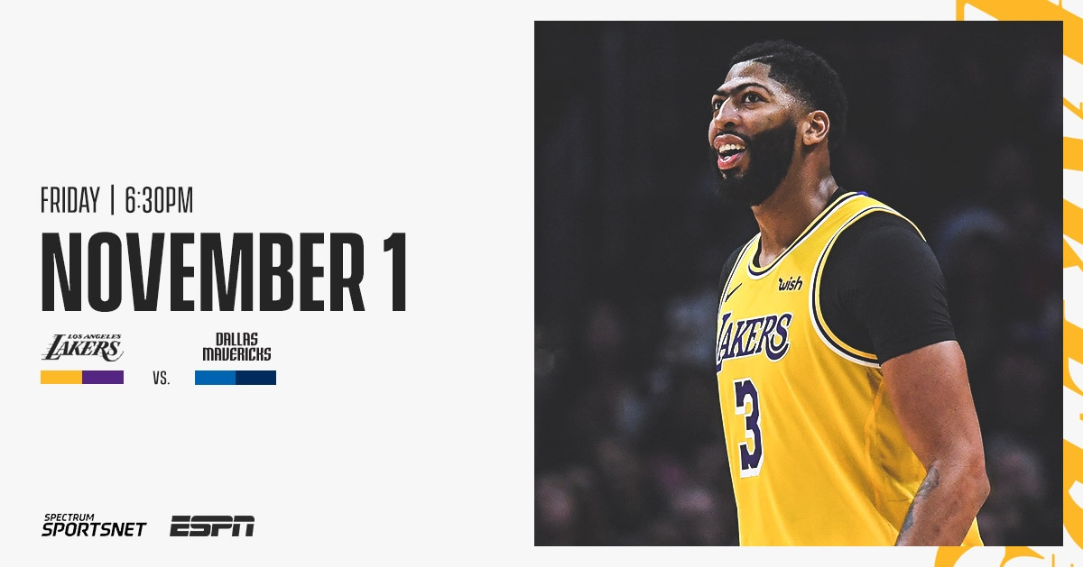 Lakers At Mavericks 3 Things To Know 11 1 19 Los