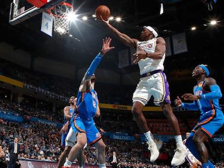 Running Diary: Lakers 125 | Thunder 110