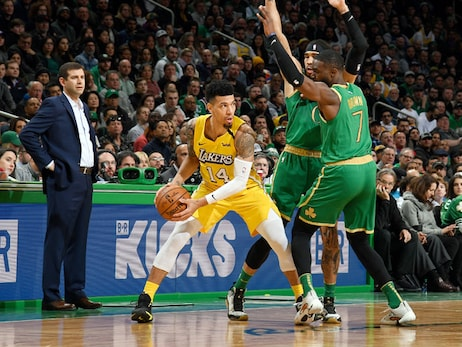 Offensive rebounds hurt Lakers in loss to Celtics