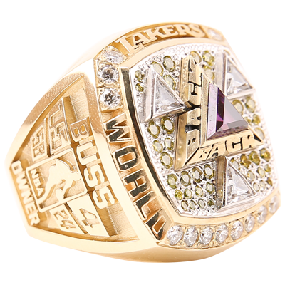 90d7344a32c History  Lakers Championship Rings