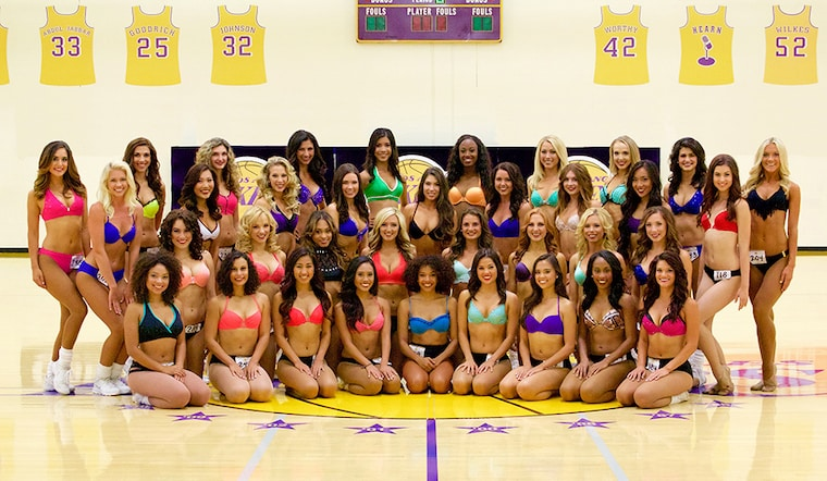 Laker Girls 2015-16 Audition Finalists