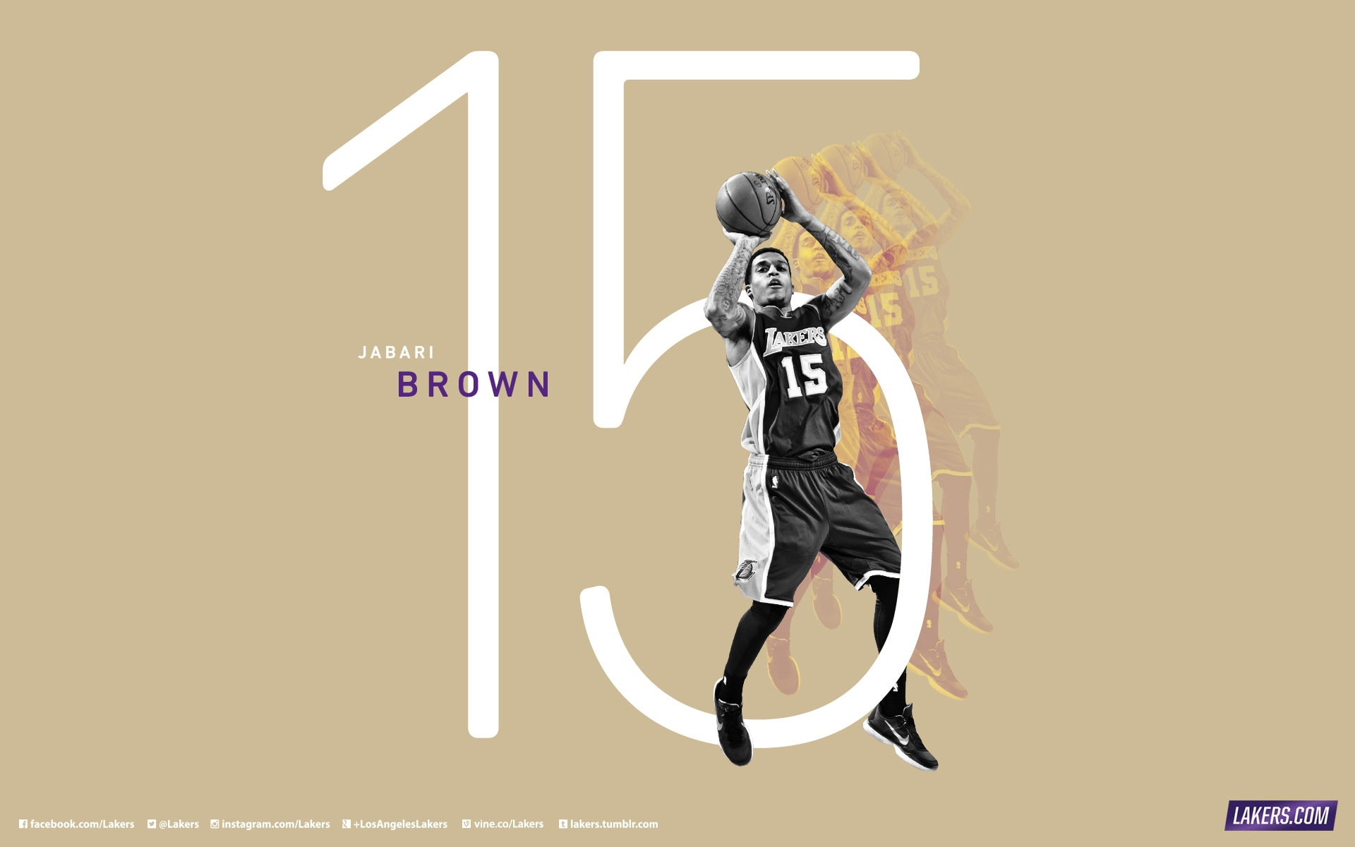 Jabari Brown Player Wallpaper