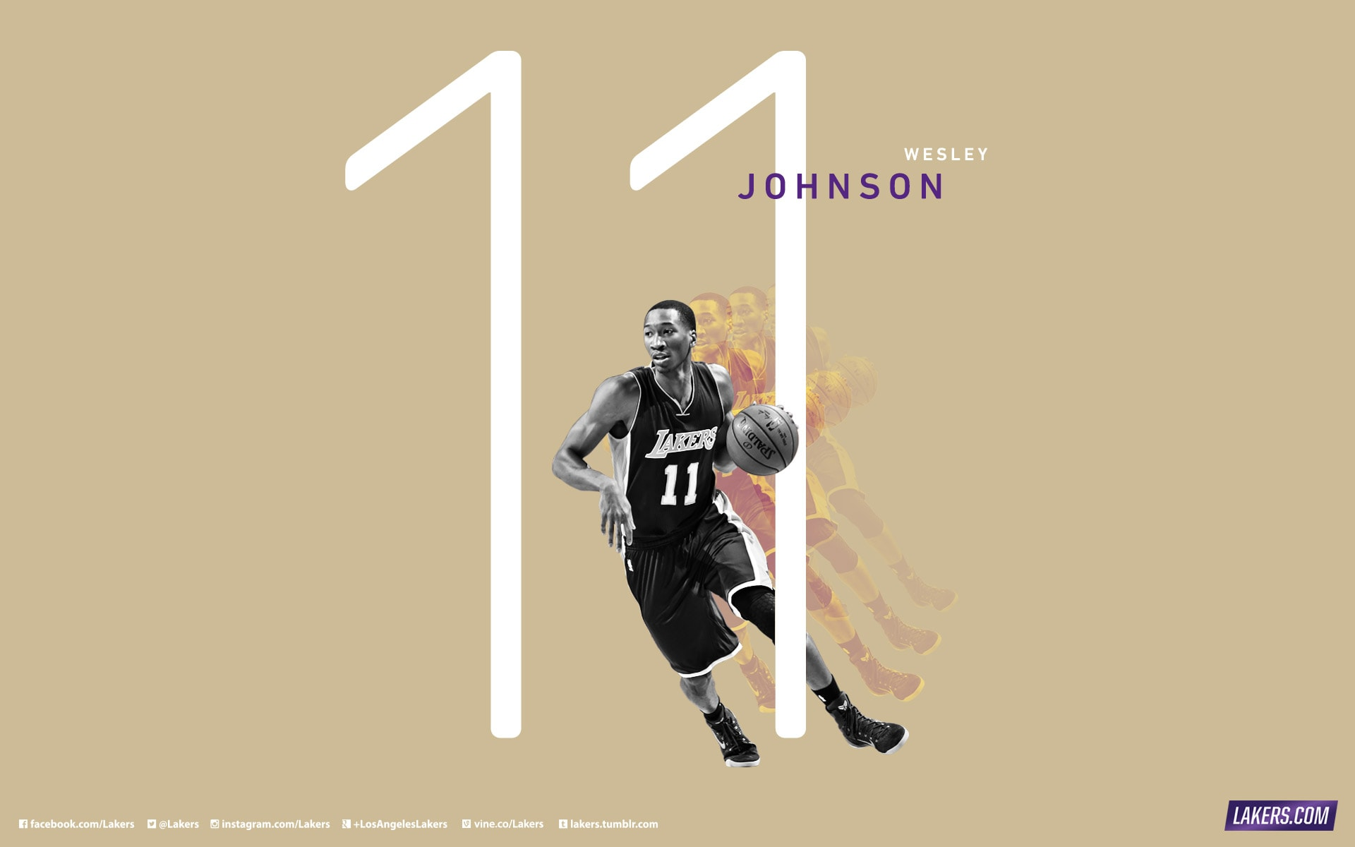 Wesley Johnson Player Wallpaper