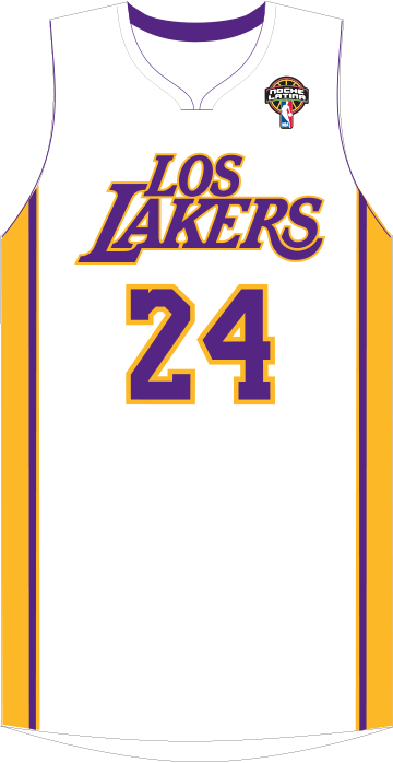 los lakers jersey