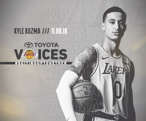 Lakers Voices Presented by Toyota