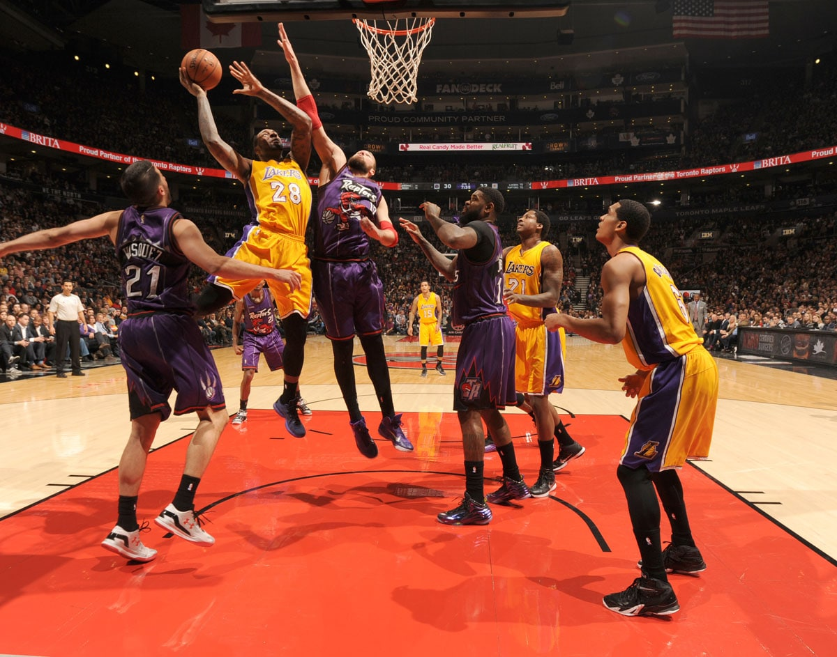 Lakers Vs Raptors Detail: Photos: Lakers Vs. Raptors (3/27/15)