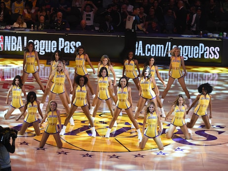 Laker Girls March Gallery 2020
