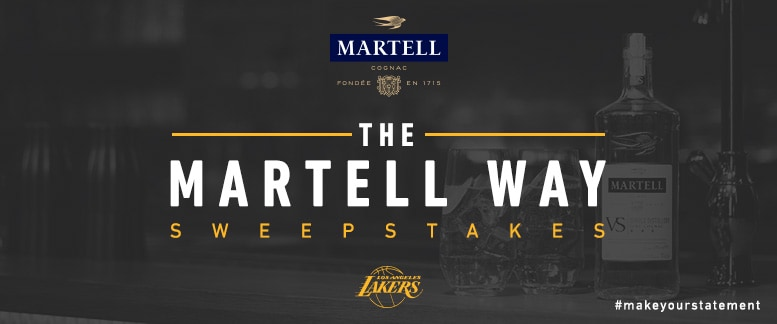 The Martell Way Sweepstakes