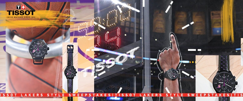Tissot Lakers Style Sweepstakes
