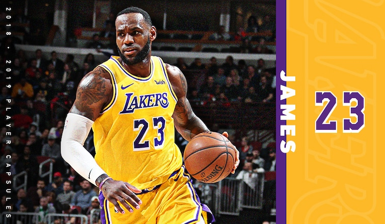 Lebron Lakers >> 2019 Player Capsule Lebron James Los Angeles Lakers