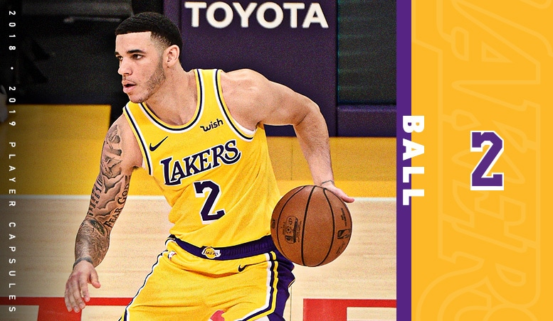 Lonzo Ball Season Capsule