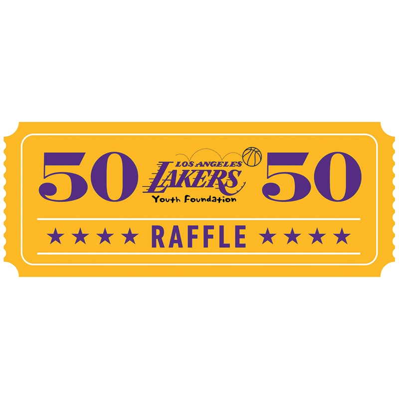 50 50 raffle sign pictures to pin on pinterest pinsdaddy Draw the to How Lakersemble Drawing NBA Lakers