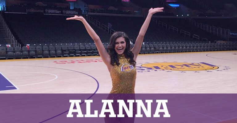 Laker Girls Livin' - Alanna