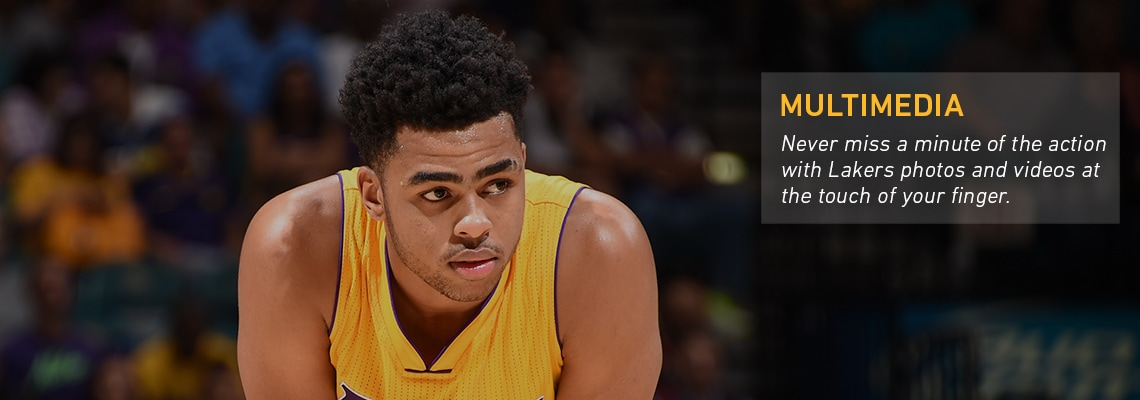 Download the Lakers Mobile App