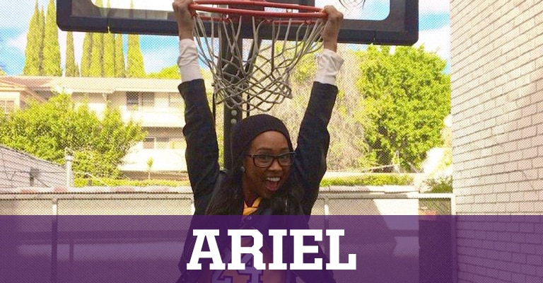 Laker Girls Livin' - Ariel