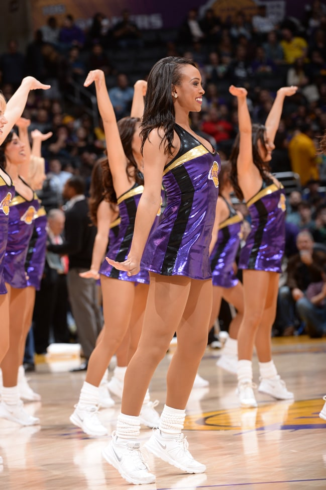 Laker Girls - Ariel