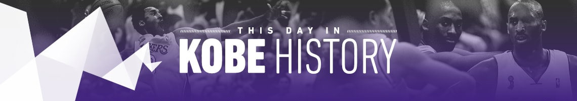 This Day in Kobe History