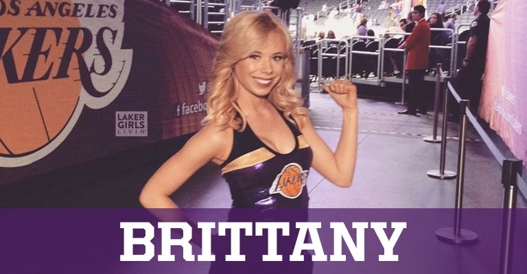 Laker Girls Livin' - Brittany