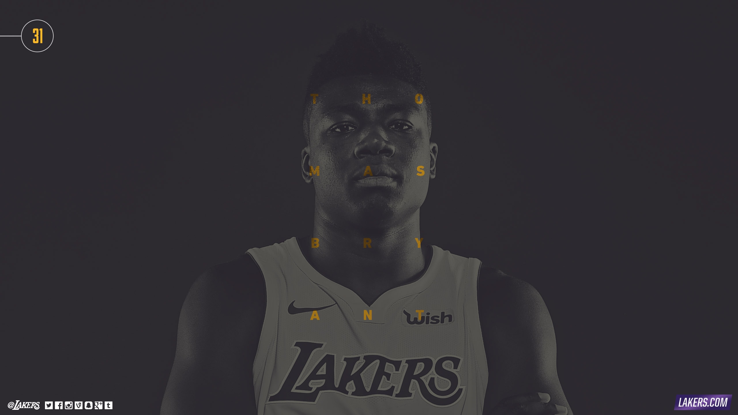 Thomas Bryant Player Wallpaper
