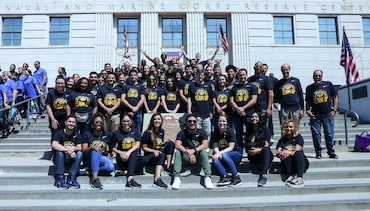 Lakers Staff Team Up to Help Pack 500,000 Meals for 9/11 Service Day