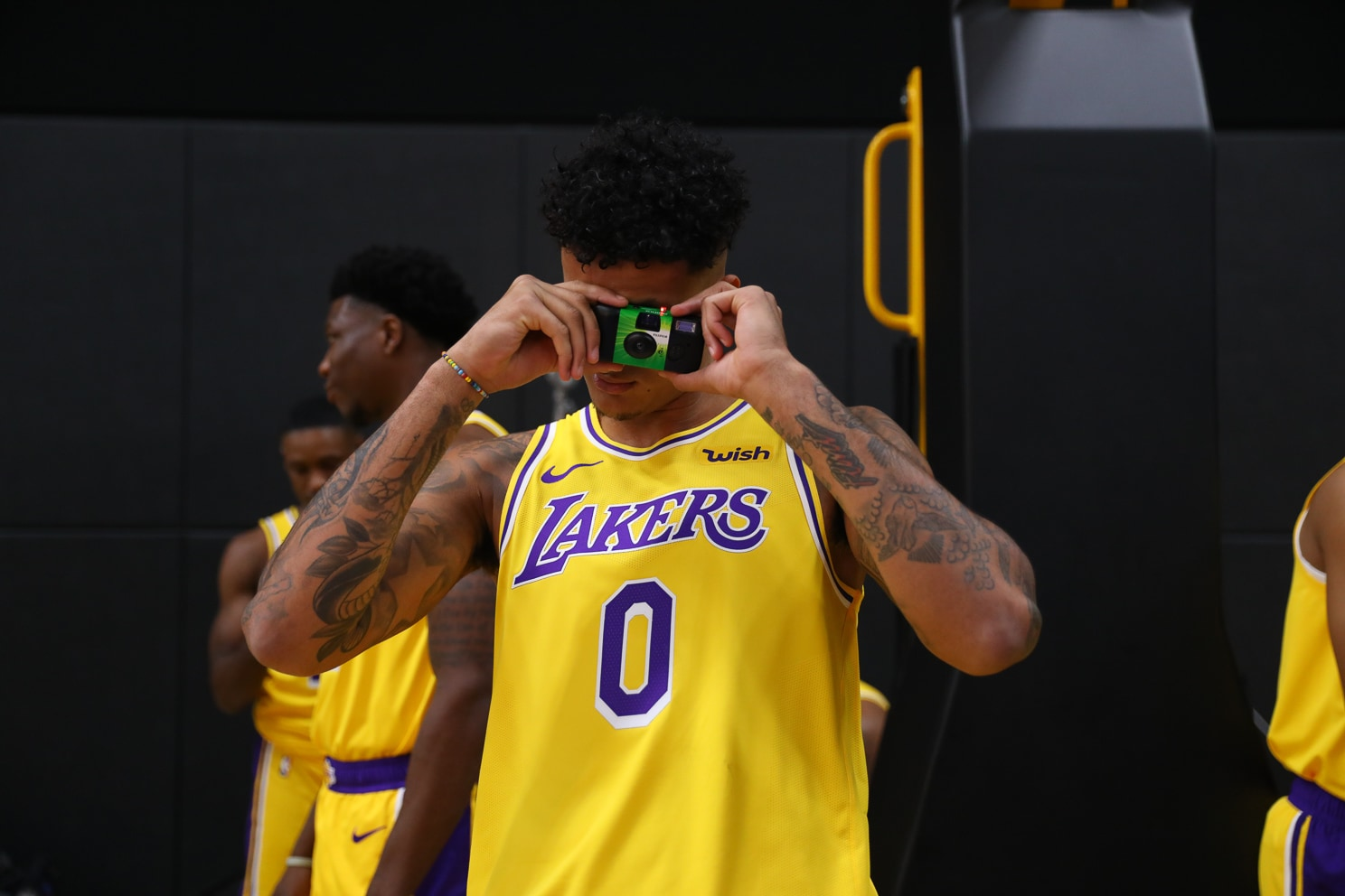Lakers hosted their 2019 Media Day on Monday in the UCLA Health Training Center in El Segundo.(J Diaz/Lakers.com/Joseph Sherman/Erica Martin)